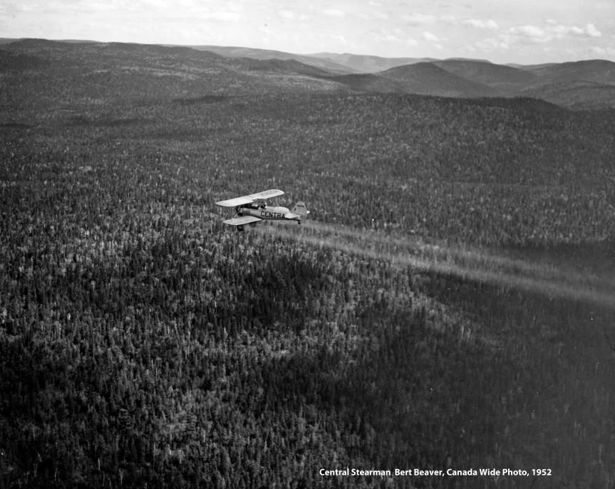 Central Aircraft (Yakima, Washington) - #17 spraying