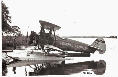CF-FBD Boeing Model 75 on floats-anot