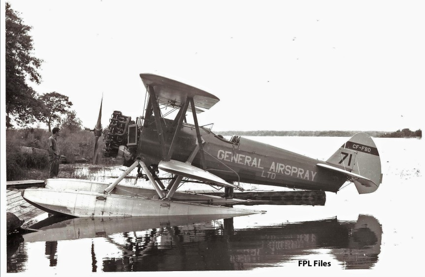 CF-FBD Boeing Model 75 on floats-anot