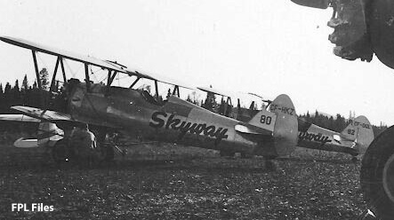 CF-HKZ CF-DQL Skyway Stearman #80 #82