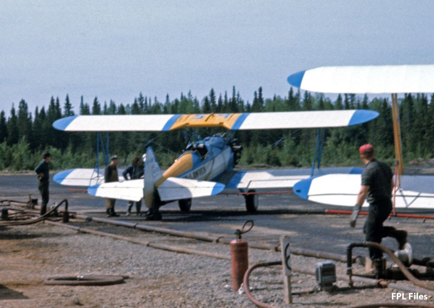 Stearmans loading, Juniper NB, Jun 1967