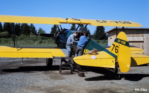 General Airspray Stearman CF-VOB, Jun 1967