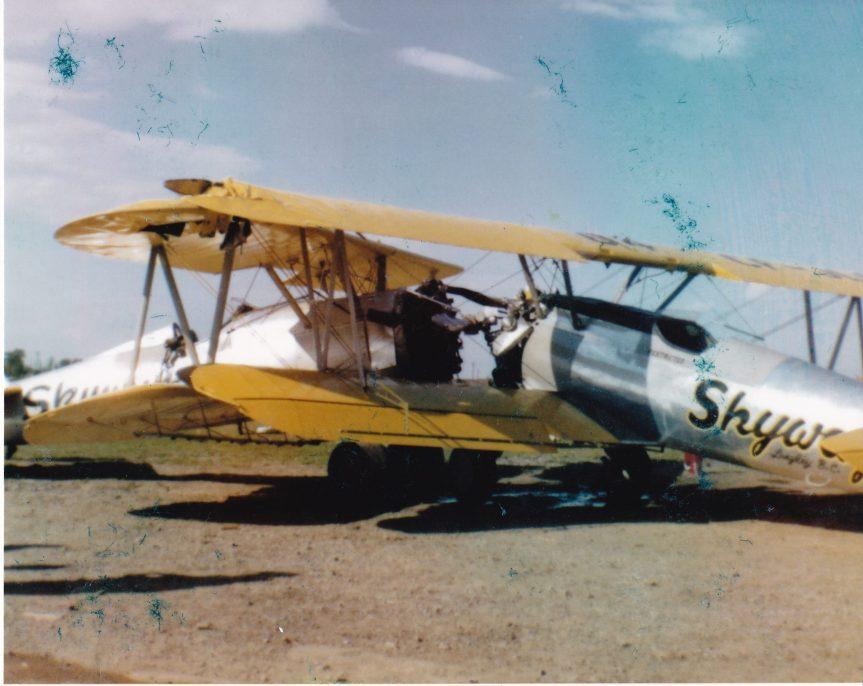 CF-HKZ + CF-JLS Skyway_28May1957_CartiervilleQC-TWilson