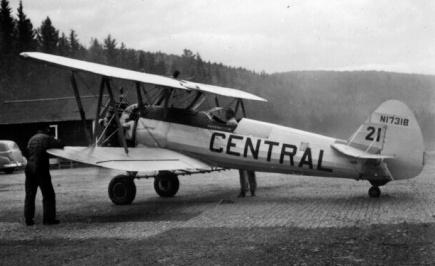 - #21 N1731B - Image taken by Richard Arless at Nictau, New Brunswick, between 27 May and 2 June, 1953.