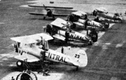 - #23 Nxxxxx, #25 N62955 and #24 Nxxxxx - La Patrie, 16 August 1953.