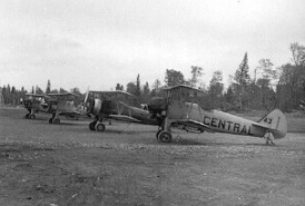 - #43 Nxxxxx and others - Image by Dwight Dolan at Nictau, New Brunswick, 7-13 June 1953. FPL files.