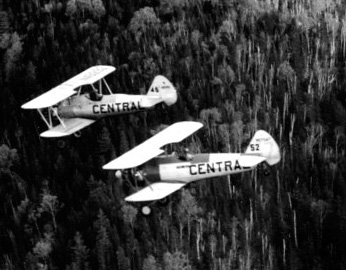 - #45 Nxxxxx and #52 N57047 - Image taken by Richard Arless at Nictau, New Brunswick, between 27 May and 2 June, 1953.