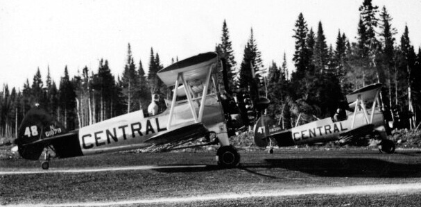 - #47 Nxxxxx and #48 N61078? - Image taken by Richard Arless at Nictau, New Brunswick, between 27 May and 2 June, 1953.