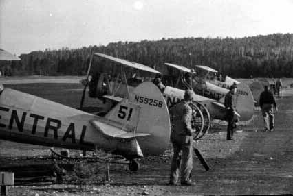 - #51 N59258 tail - Image by Dwight Dolan at Nictau, New Brunswick, 7-13 June 1953. FPL files.