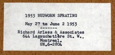 RichardArless album title_27May-2Jun1953