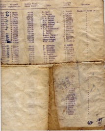 List of Stearmans in NB - FPL 1957. From Don Henry files.