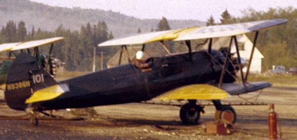 1955 – Forest Spraying Stearmans in New Brunswick